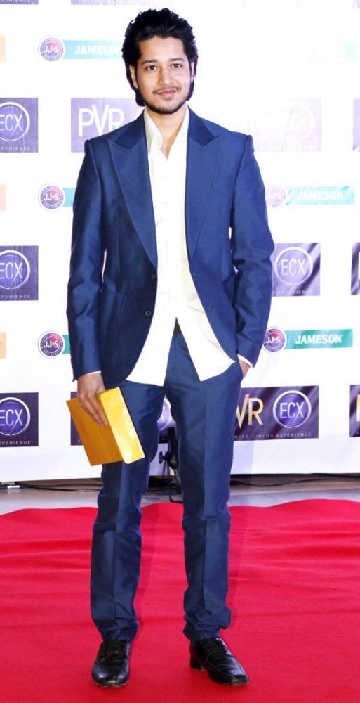 Rajat Barmecha Snapped At The Premiere Of Skyfall