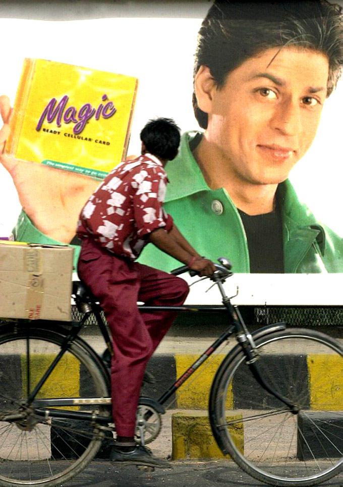 A Fan See The Shahrukh Khan Poster