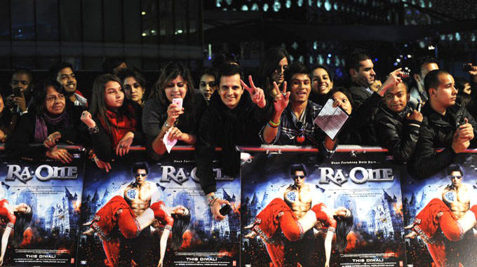 Fans Of Shahrukh Await SRK At The O2 Arena