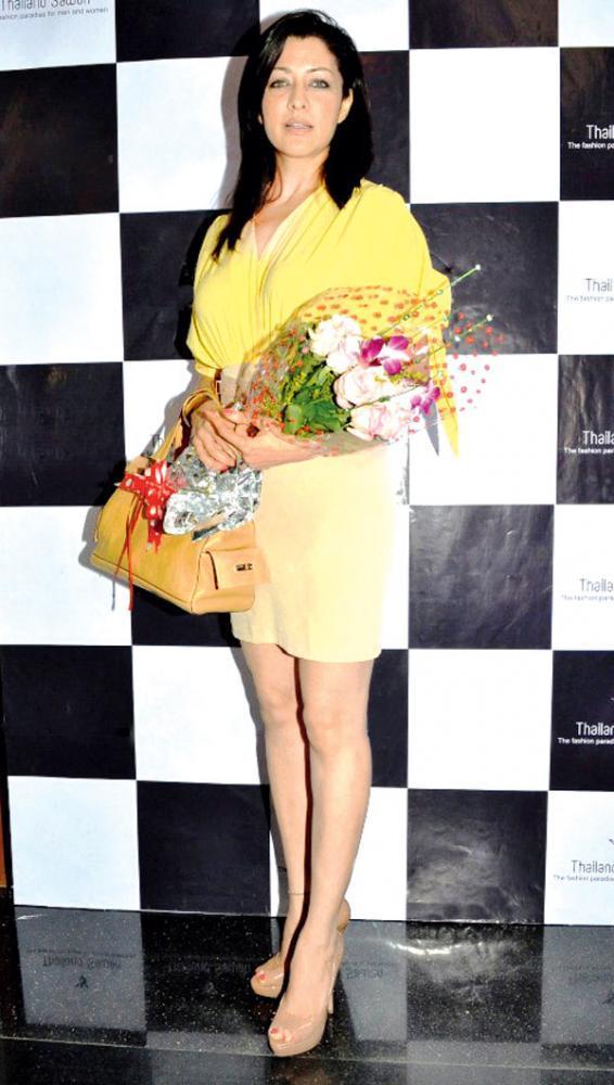 Aditi Govitrikar Clicked At The Thailand Sawan Store Launch