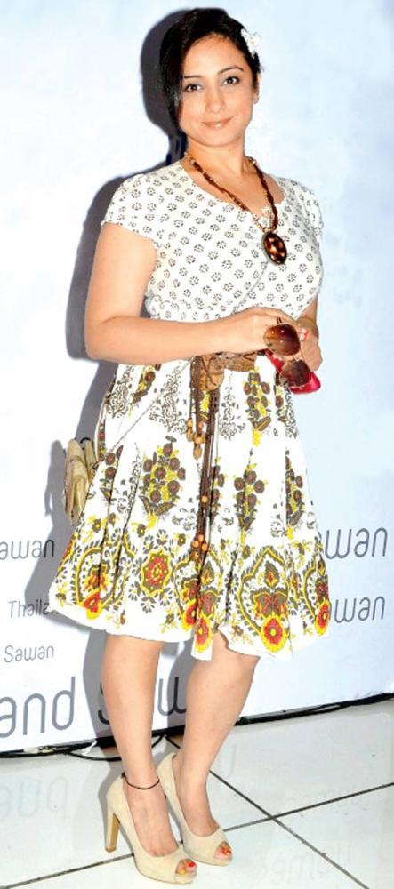 Divya Dutta At The Thailand Sawan Store Launch