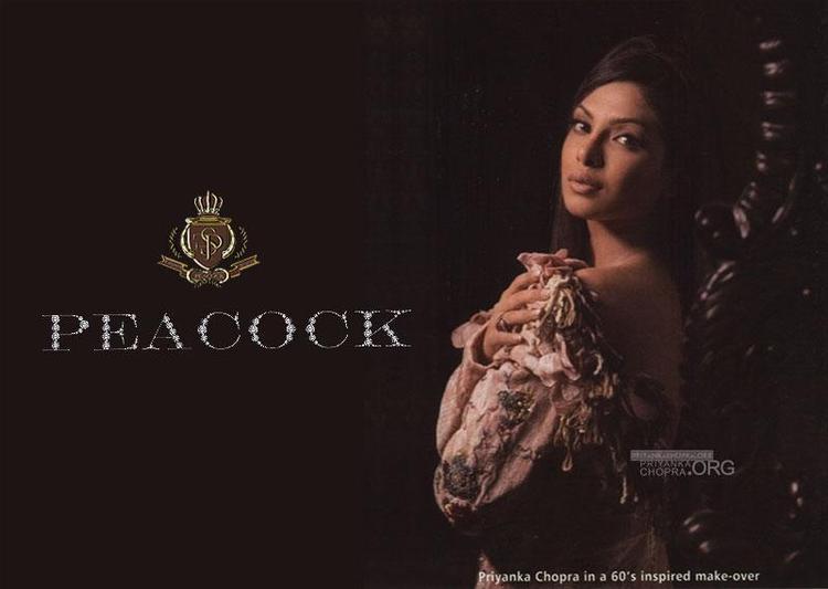 Priyanka Charming Look Still In Falguni And Shane Peacock Design Dress