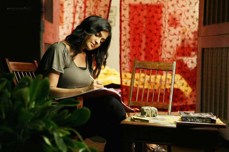 Remya Nice Look Still From  Pizza Movie