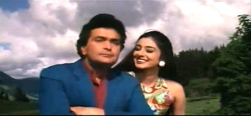 Tabu And Rishi Song Still From Pehla Pehla Pyaar