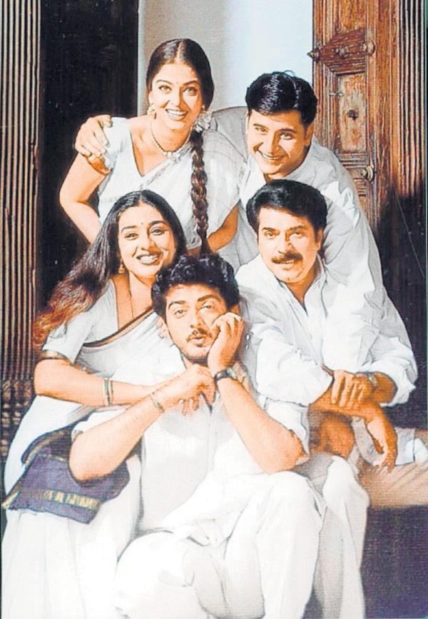 Tabu,Aishwarya,Mammootty And Ajith Still From Tamili Movie Kandukondain Kandukondain