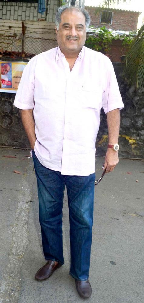Boney Kapoor Spotted At Book Launch Of Mahatma Gandhi Aur Cinema