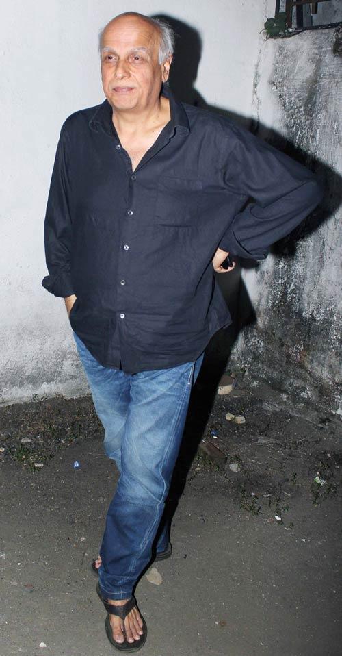 Mahesh Bhatt Walks On The Book Launch Of Mahatma Gandhi Aur Cinema
