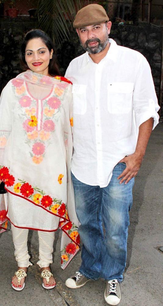 Salman's Sister Alvira With Hubby Atul Clicked At Book Launch Of Mahatma Gandhi Aur Cinema