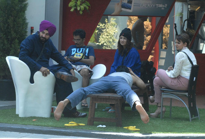 Sidhu,Vrajesh And Other Contestants Are In The Bigg Boss House