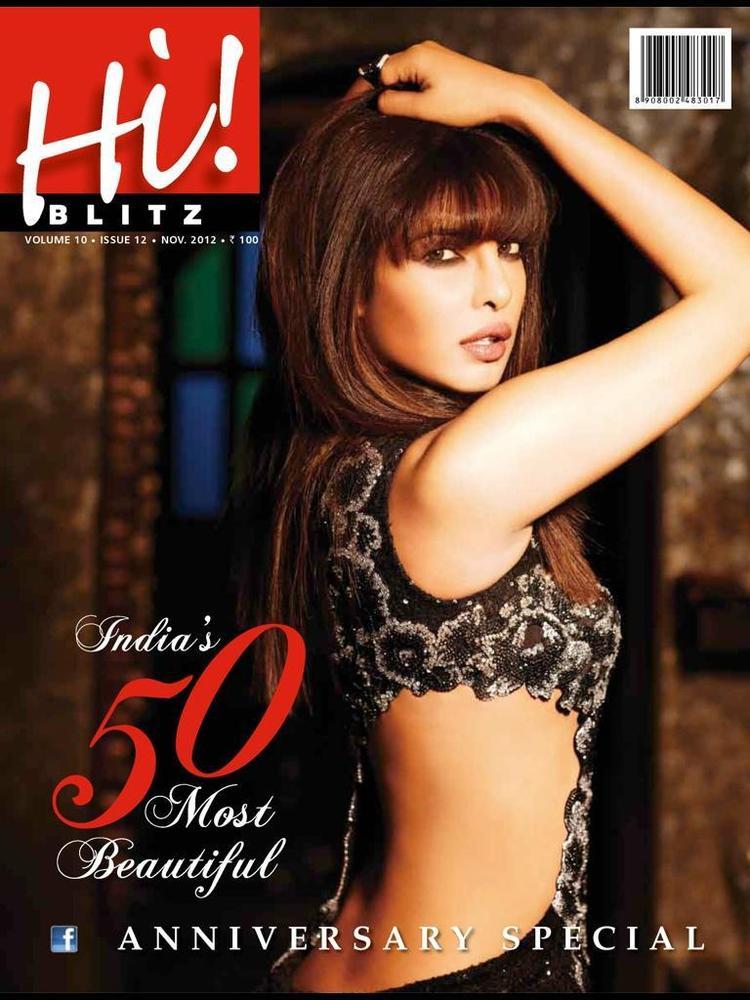 Priyanka Chopra On The Cover Of Hi Blitz India