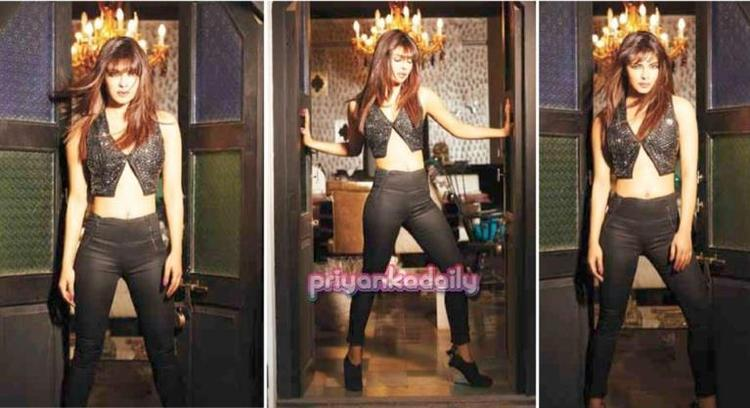 Priyanka Chopra Hot Look Photo Shoot For Hi! Blitz India November 2012