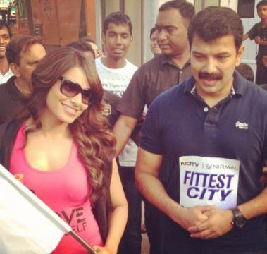 Bipasha Basu Spotted At The NDTV Nirmal Lifestyle Marks For Sports