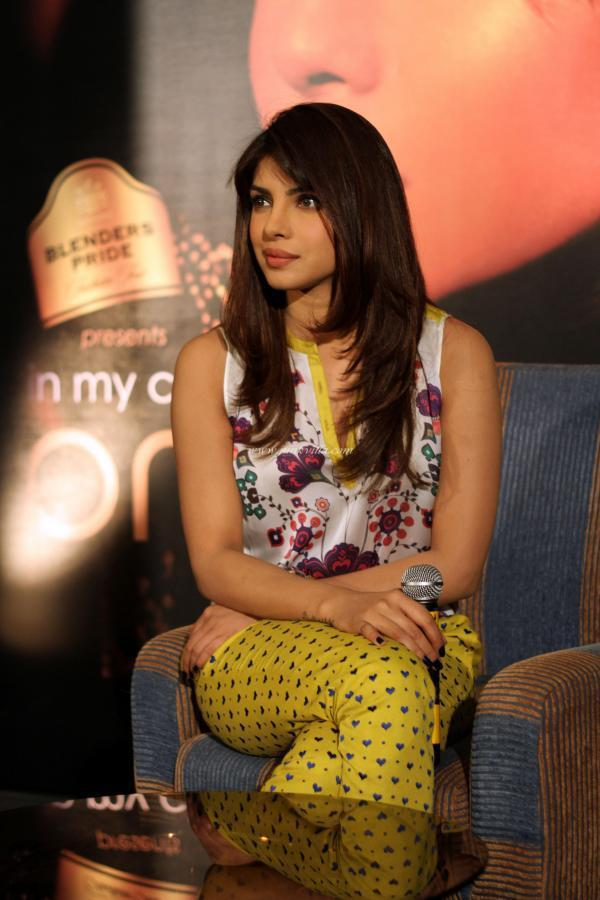 Priyanka Attend The Album In My City Promotional Event At Blenders Pride Fashion Tour