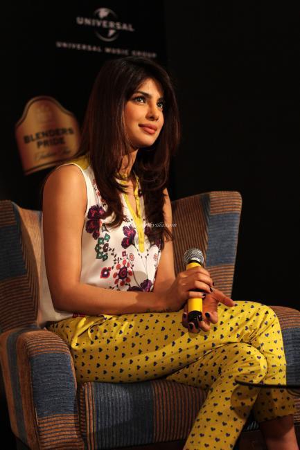 Priyanka Promotes Her Debut Single In My City At Blenders Pride Fashion Tour