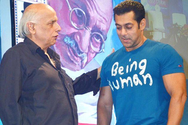 Salman And Mahesh Snapped At The Launch Of Book Mahatma Gandhi And Cinema