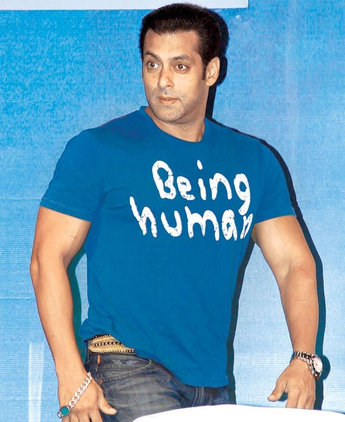 Salman Spotted At The Launch Of Book Mahatma Gandhi And Cinema