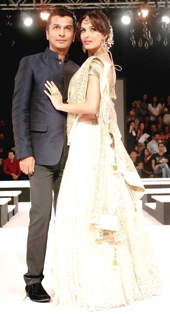Malaika And Vikram Walk On Ramp On Day 2 Of The BPFW