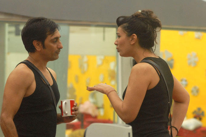 Mink And Rajev At Day 29 On Bigg Boss 6