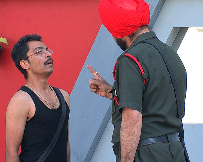 Vrajesh And Sidhu At Day 29 On Bigg Boss 6