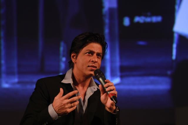 Shahrukh Khan Graced The Last Day Of The Airtel Think 2012