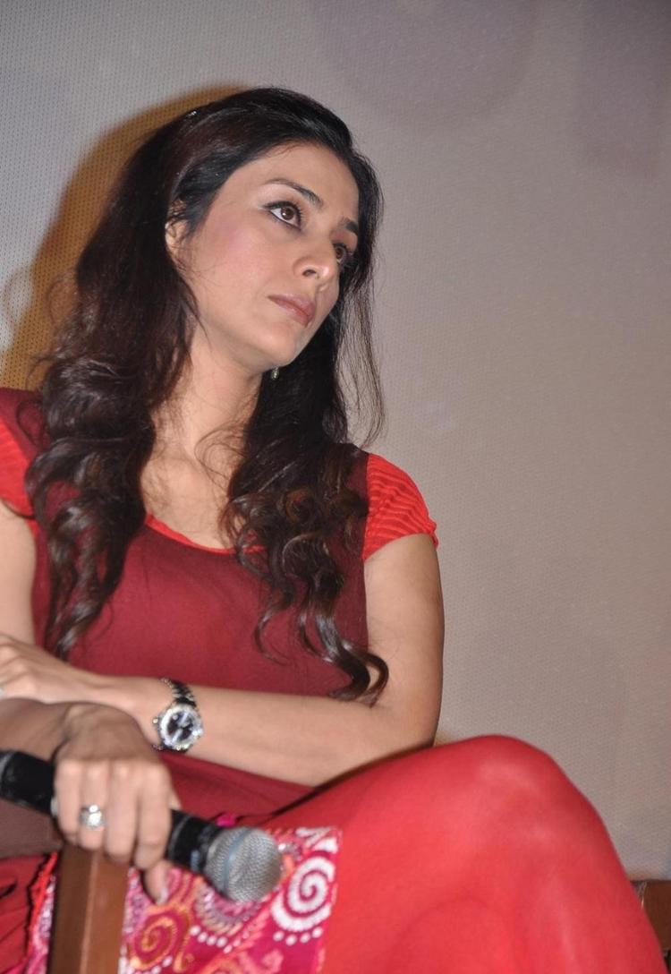 Tabu Looks Fabulous At Life Of Pi Movie Press Meet