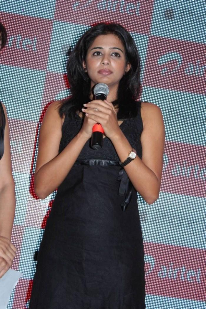 Priyamani Photo Clicked While Address The Press At  Airtel Apple IPhone 5 Launch