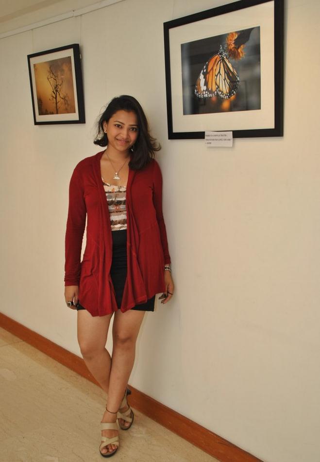 Swetha Basu Posed At Rumi Photo Exhibition