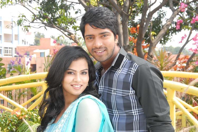 Allari And Sharmila Looked Radiant And Beautiful Still From Kevu Keka Movie