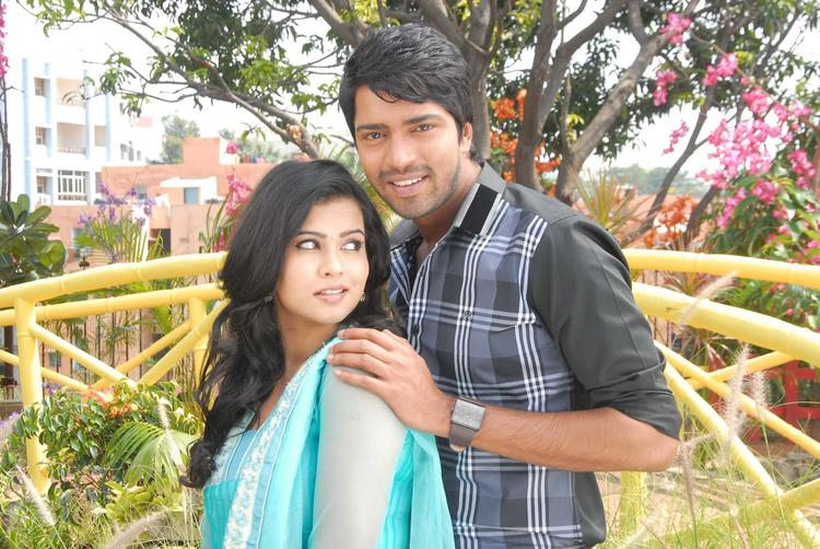 Allari And Sharmila Smiling Face Look Still From Kevu Keka Movie