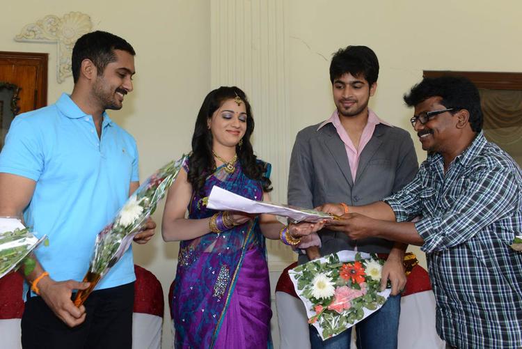 Reshma Celebrated Her Birthday With Jai Sriram Telugu Movie Team