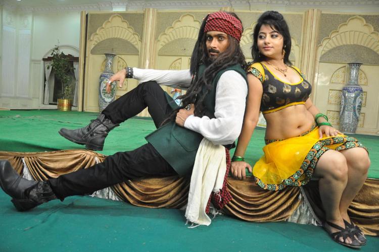 Uday And Reshma Clicked On The Sets Of Jai Sriram Movie