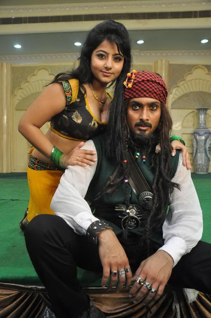 Uday And Reshma On The Sets Of Jai Sriram Movie