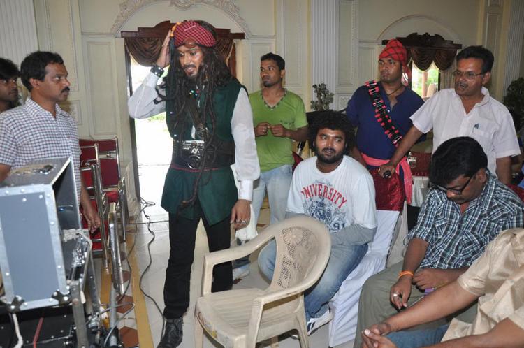 Uday Kiran On The Sets Of Jai Sriram Movie