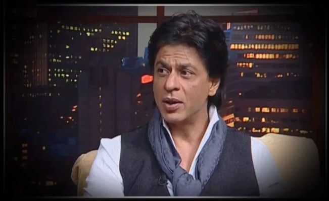 Shahrukh Photo Clicked On The Show ETC Bollywood Business