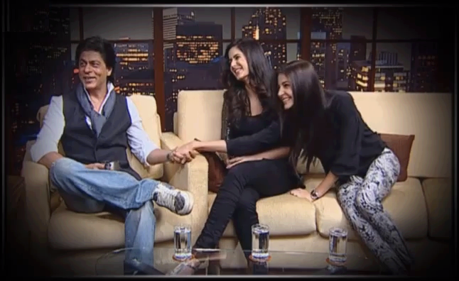 Shahrukh,Anushka And Katrina Talked About Their Film At The Show ETC Bollywood Business