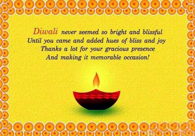 Beautiful Diwali Diya Greeting Card Wallpaper