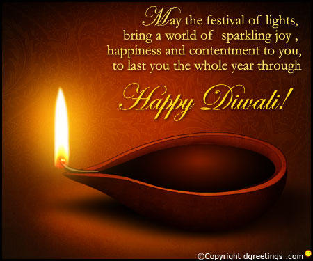 Happy Diwali Wishes Through Diwali Greetings