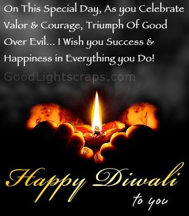 May God Fulfill Your Wish Through Diwali Greetings
