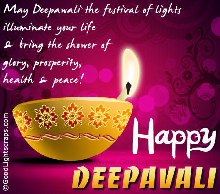 To Wish All My Friends And Family A Very Happy Diwali Through Diwali Greetings