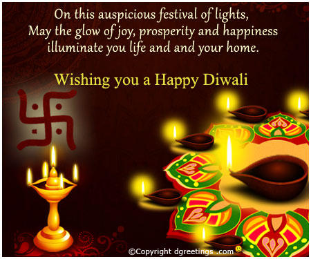 Wishing Happy Diwali Through Diwali Greetings
