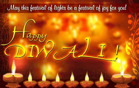 Wishing You Happiness And Peace Through Diwali Greetings