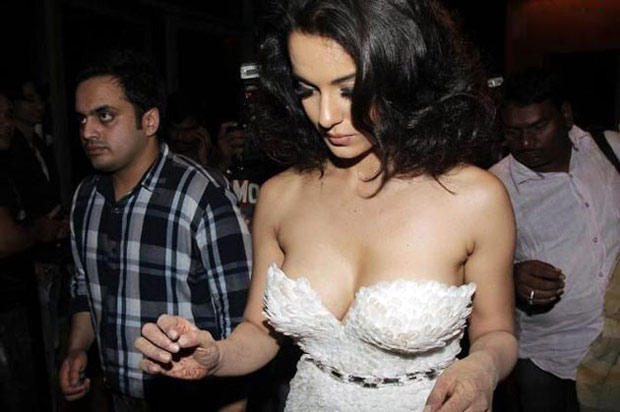 Kangana Ranaut Spotted At Blenders Pride Fashion Tour 2012