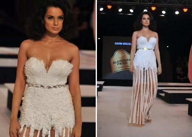 Kangana Showstopper At Gavin Miguel's Show On Day 1 Of The Blenders Pride Fashion Tour 2012
