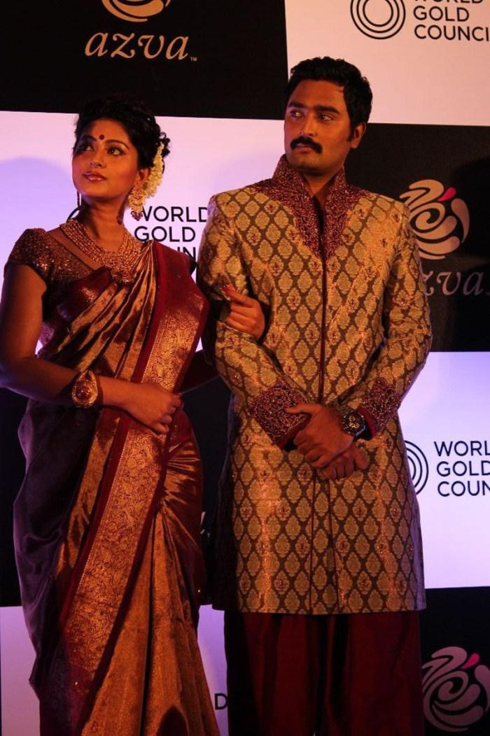 Sneha And Prasanna Launches World Gold Council Jewellery