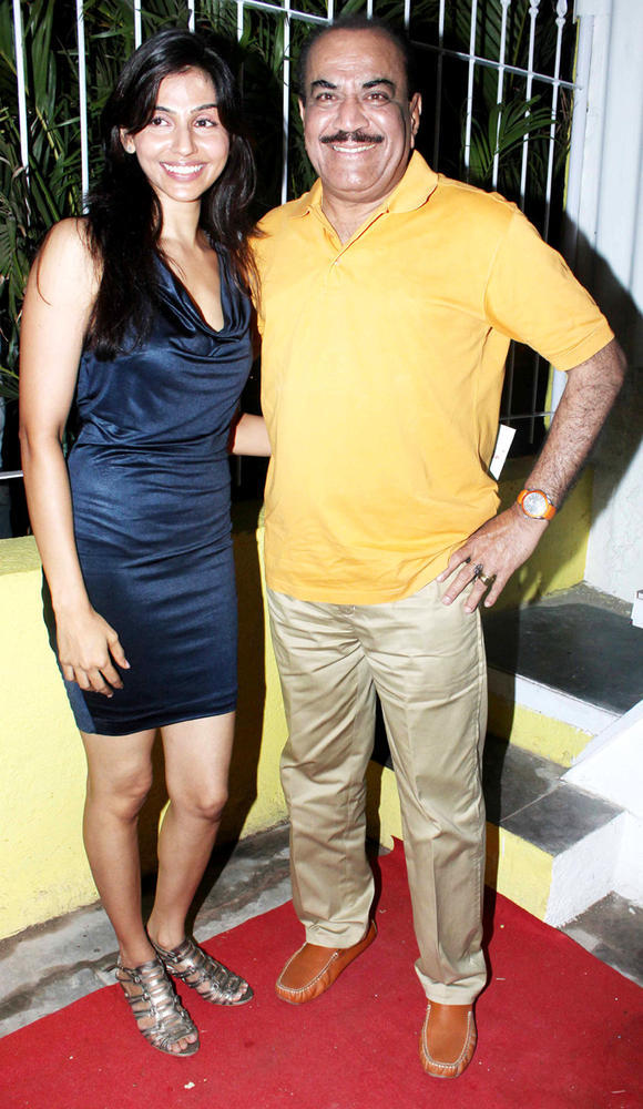 Shivaji Satam And Alka Verma At The Coffee Adda Launch