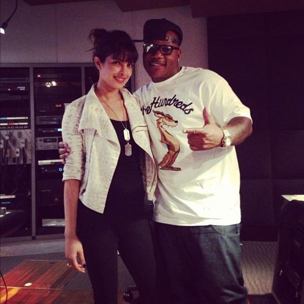 Priyanka Chopra And Sean Garrett Posed Still