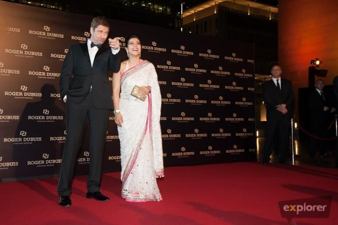 Kajol And Gerard Arrived At Roger Dubuis Boutique Opening Event