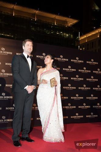 Kajol Spotted With Gerard In Roger Dubuis Boutique Opening Event