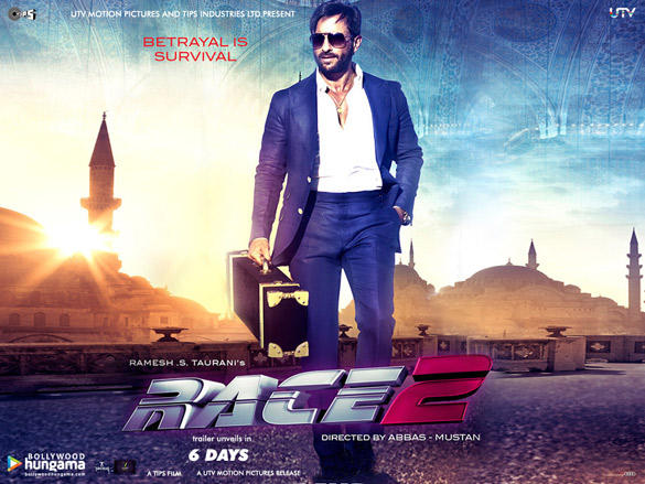 Saif Ali Khan Glamorous Look Photo On Race 2 Wallpaper