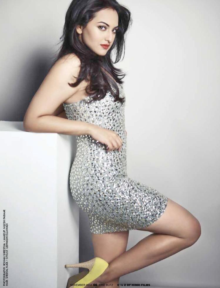 Sonakshi Trendy Looking Photo Shoot For Cineblitz November 2012